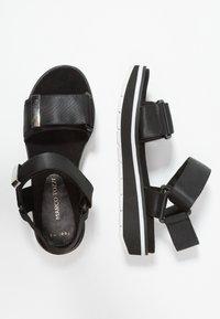 Marco Tozzi - Platform sandals - black - 3