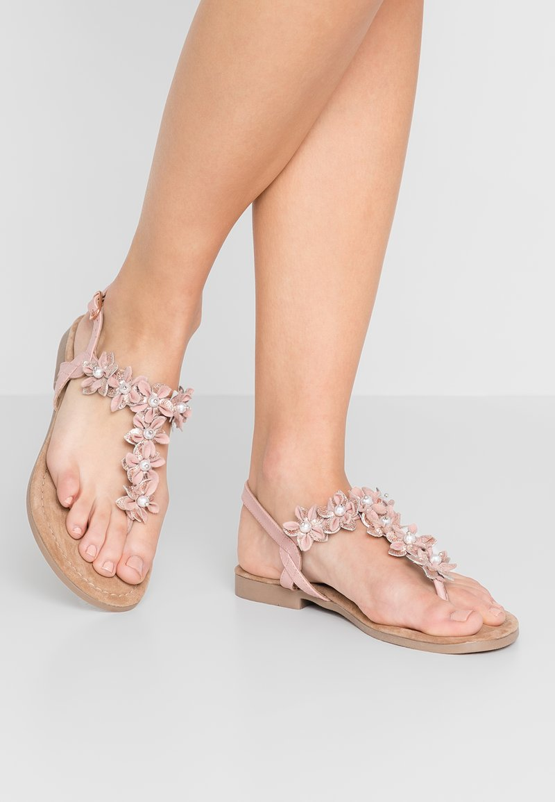 Marco Tozzi - T-bar sandals - rose