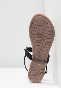 Marco Tozzi - Sandály s odděleným palcem - black - 6