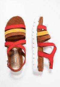 Marco Tozzi - Wedge sandals - chili - 3
