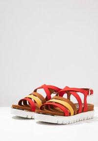 Marco Tozzi - Wedge sandals - chili - 4