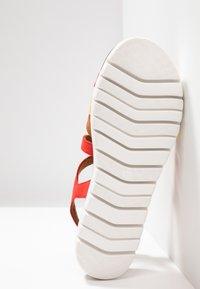 Marco Tozzi - Wedge sandals - chili - 6