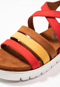Marco Tozzi - Wedge sandals - chili - 2