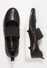 Marco Tozzi - Ankle strap ballet pumps - black - 3