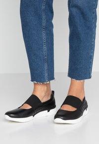 Marco Tozzi - Ankle strap ballet pumps - black - 0