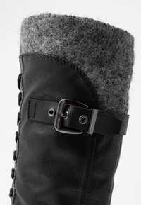 Marco Tozzi - Lace-up boots - black antic - 2