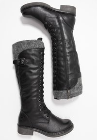 Marco Tozzi - Lace-up boots - black antic - 3
