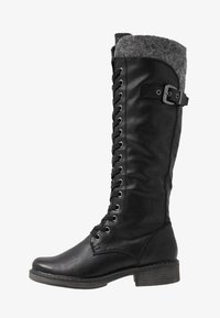 Marco Tozzi - Lace-up boots - black antic - 1
