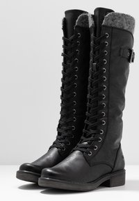 Marco Tozzi - Lace-up boots - black antic - 4