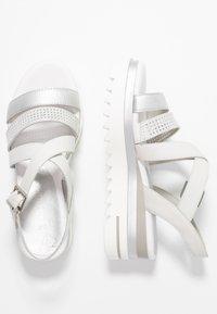 Marco Tozzi - Platform sandals - white - 3