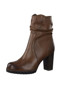 Marco Tozzi - High heeled ankle boots - brown - 3