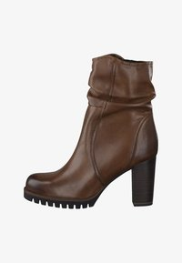 Marco Tozzi - High heeled ankle boots - brown - 1