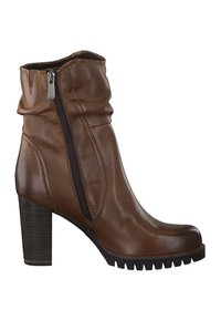 Marco Tozzi - High heeled ankle boots - brown - 5