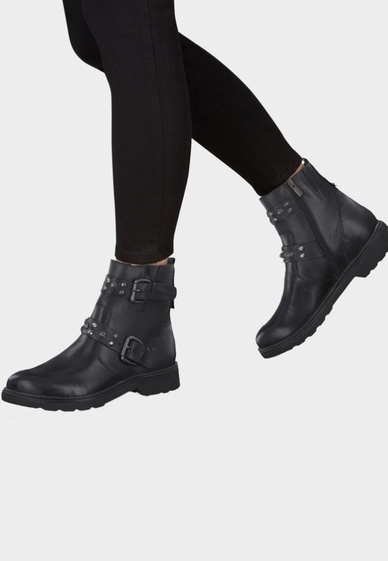 Marco Black Tozzi Boots Talons À DHIW92E