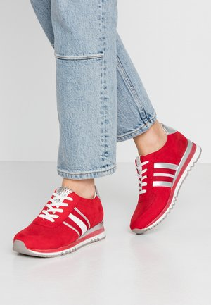 LACE UP - Trainers - red
