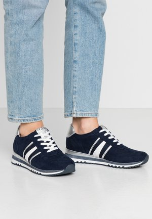 LACE UP - Trainers - navy