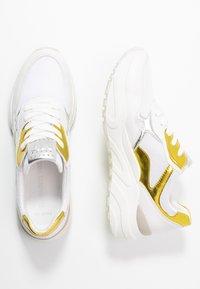 Marco Tozzi - Trainers - white/yellow - 3