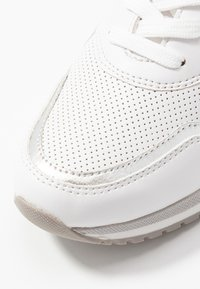 Marco Tozzi - LACE UP - Trainers - white/yellow - 2