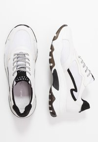 Marco Tozzi - LACE UP - Trainers - white/black - 3