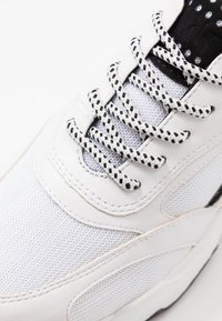 Marco Tozzi - LACE UP - Trainers - white/black - 2