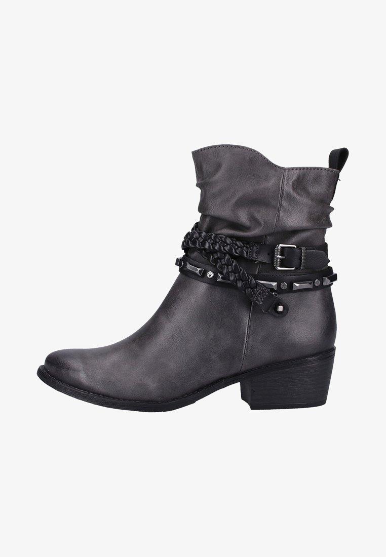 Marco Tozzi - Cowboy/biker ankle boot - grey