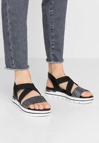 Marco Tozzi - Platform sandals - black - 0