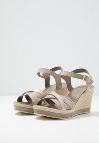 Marco Tozzi - Platform sandals - taupe - 4