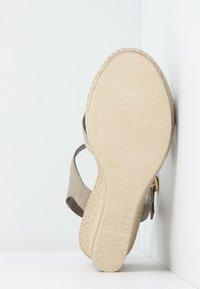 Marco Tozzi - Platform sandals - taupe - 6