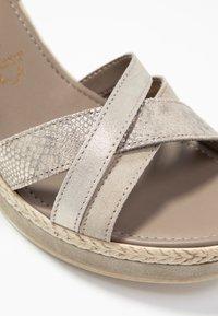 Marco Tozzi - Platform sandals - taupe - 2