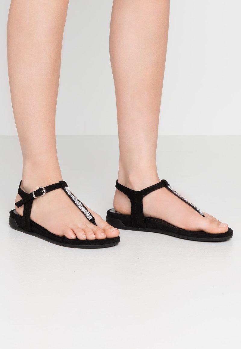 Marco Tozzi - T-bar sandals - black