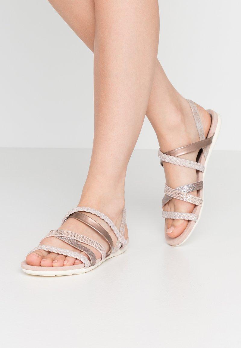 Marco Tozzi - Sandals - rose metallic