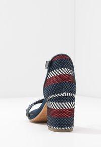 Marco Tozzi - Sandals - navy metallic - 5