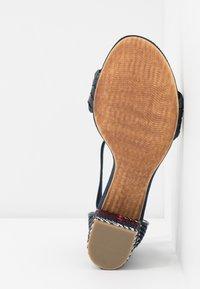Marco Tozzi - Sandals - navy metallic - 6