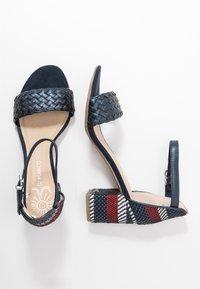Marco Tozzi - Sandals - navy metallic - 3