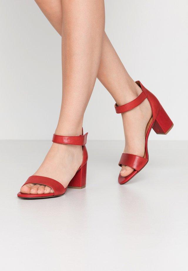 Sandály - chili