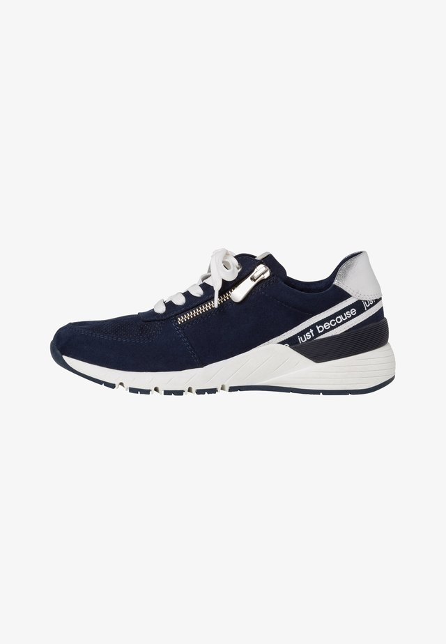 Trainers - navy comb