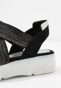 Marco Tozzi - Platform sandals - black - 2
