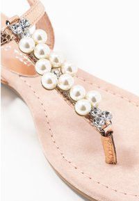 Marco Tozzi - T-bar sandals - rose metallic - 2