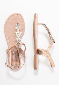 Marco Tozzi - T-bar sandals - rose metallic - 3