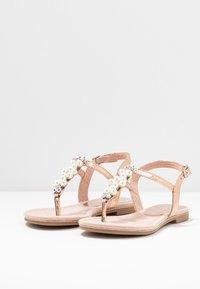 Marco Tozzi - T-bar sandals - rose metallic - 4