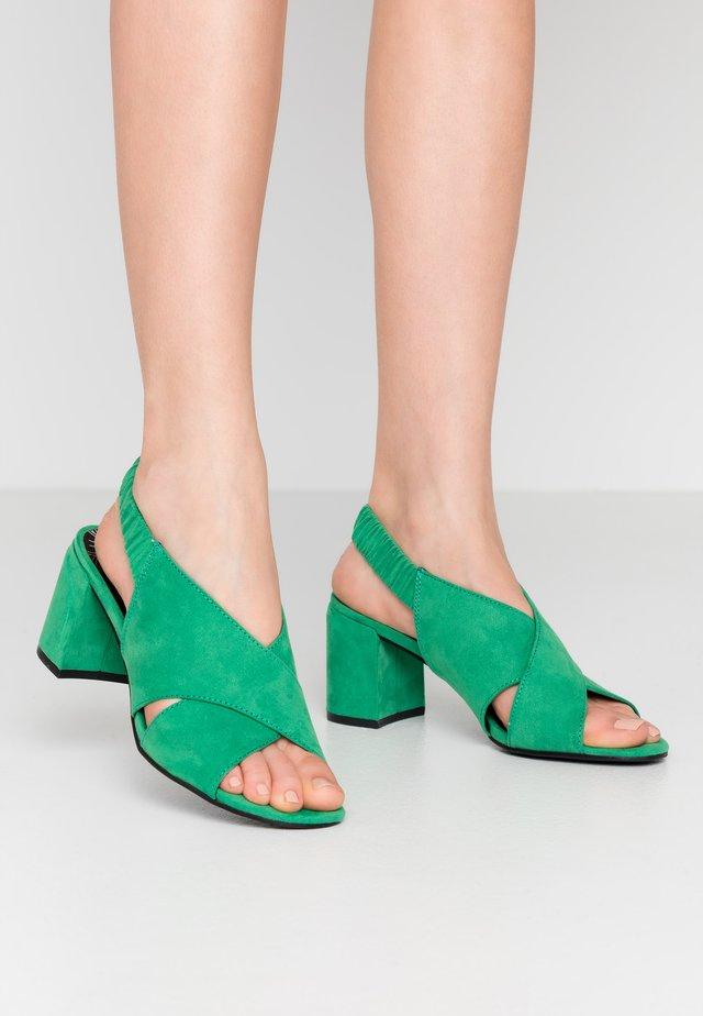 Sandály - green