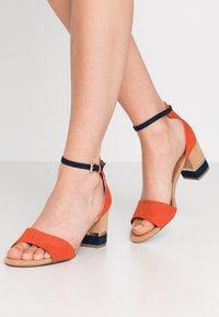 Marco Tozzi - Sandals - terracotta - 0