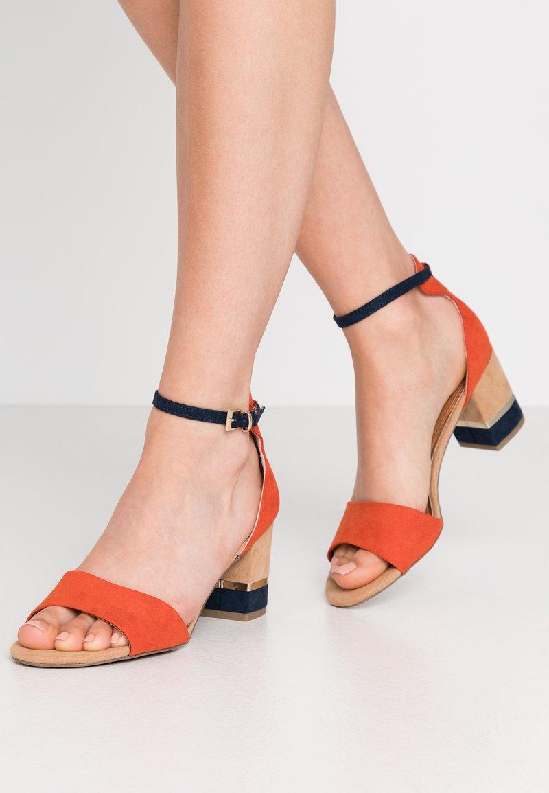 Marco Tozzi - Sandals - terracotta