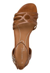 Marco Tozzi - Ankle cuff sandals - nut