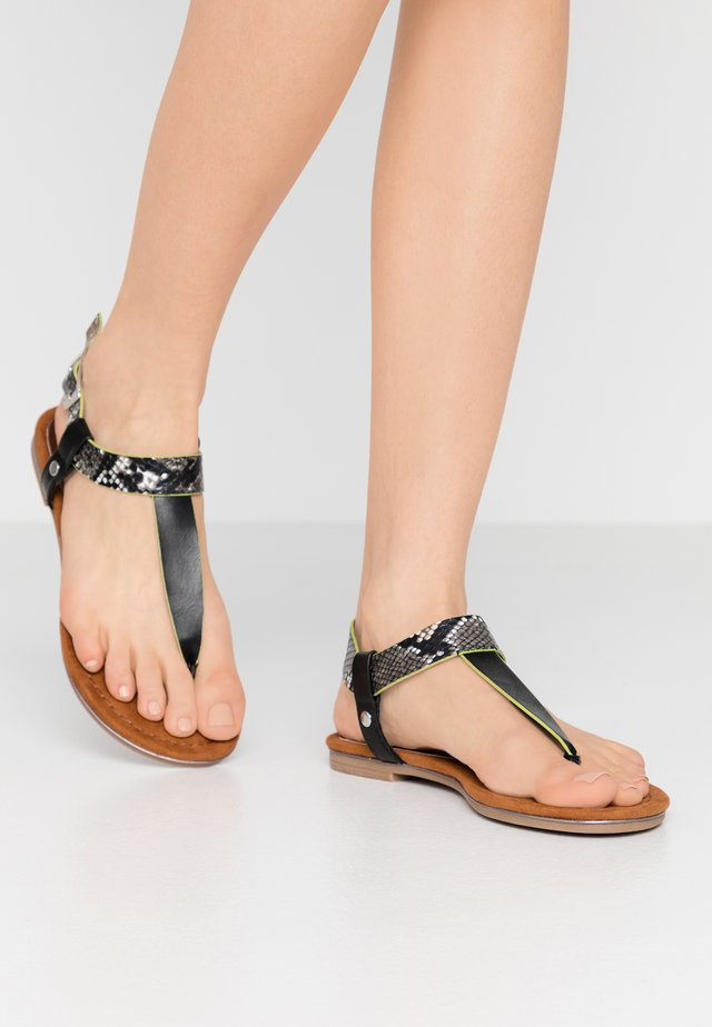 Tongs - black
