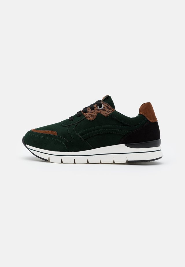 LACE UP - Joggesko - green
