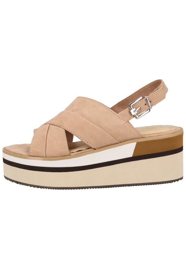 Walking sandals - nude 408