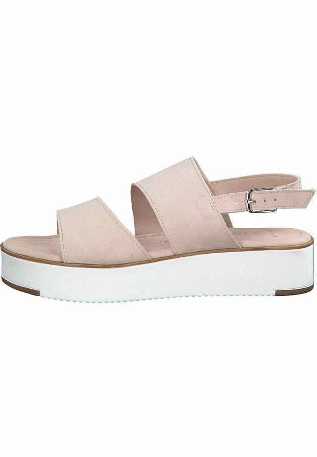 MARCO TOZZI  - Korkeakorkoiset sandaalit - rose