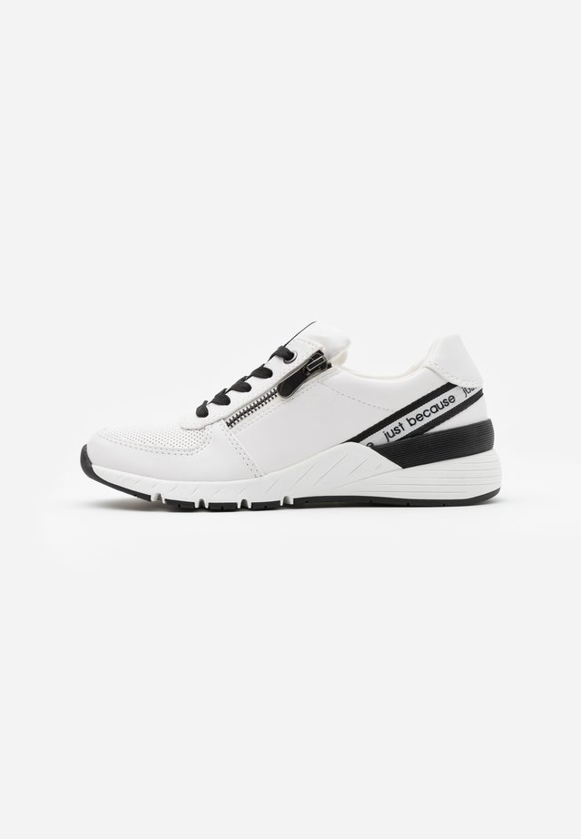 LACE-UP - Joggesko - white