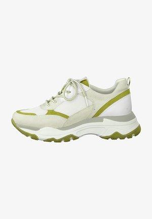 Sneakers basse - pebble/lime